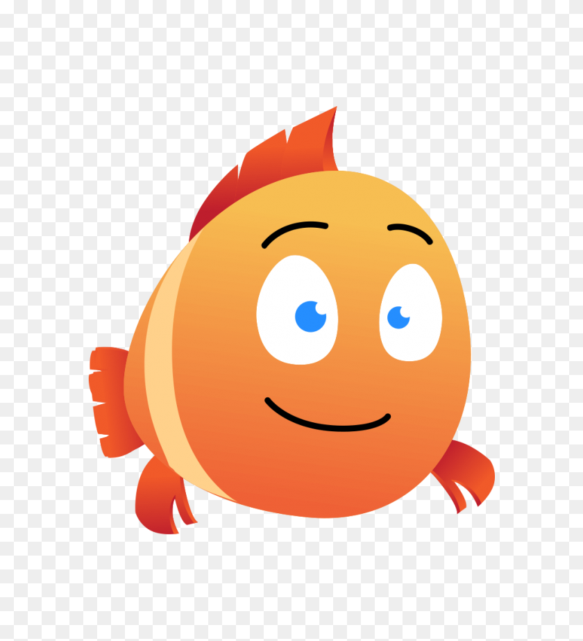 Happy Chubby Fish Character Animator Puppet Character Animator - Puppet PNG
