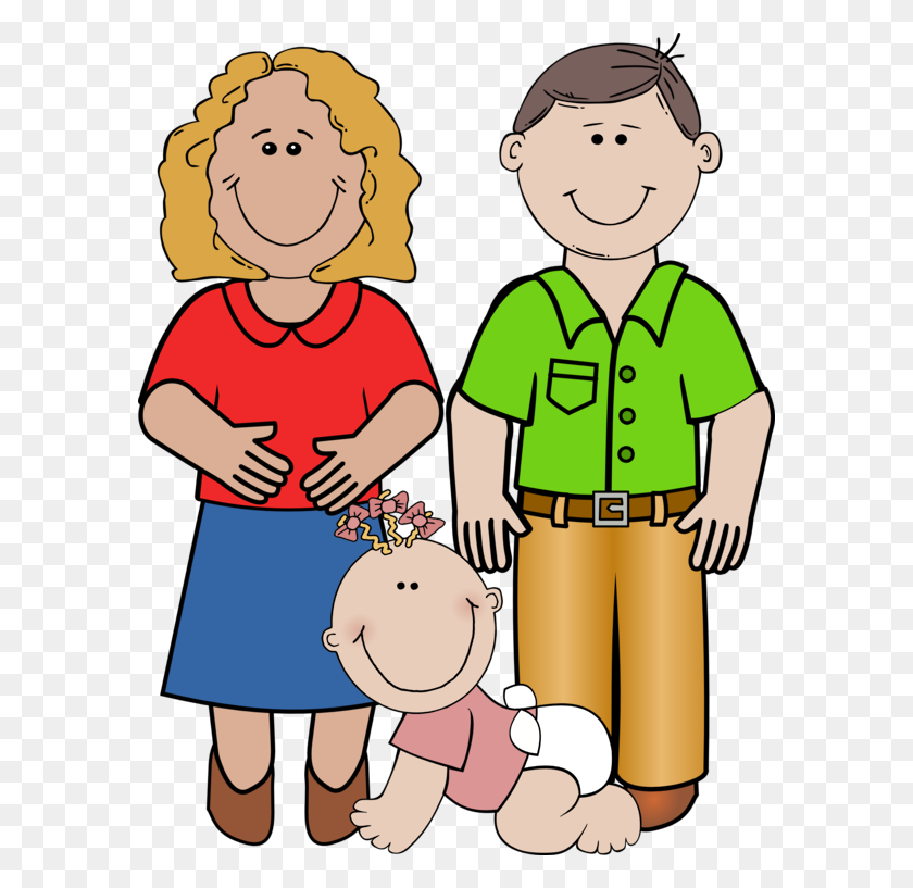 Happy Family Clip Art - Welfare Clipart