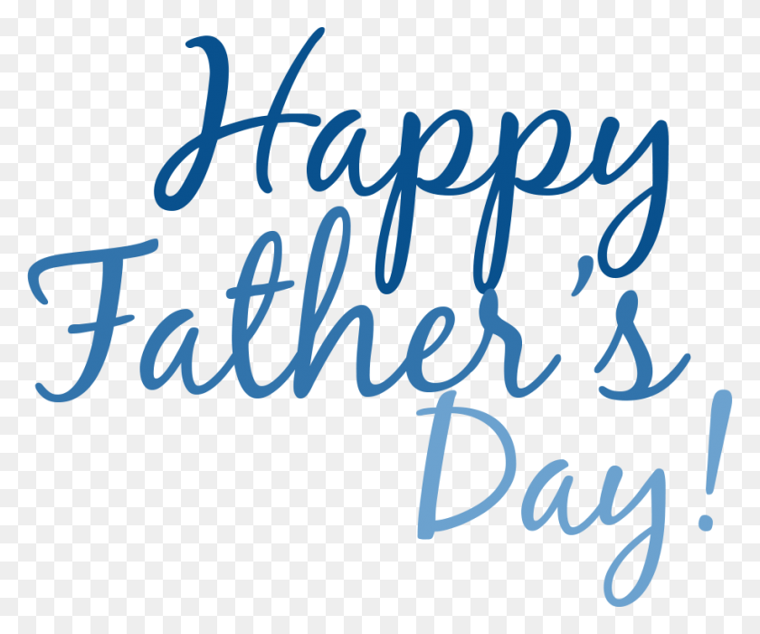 Happy Fathers Day Simple Text Transparent Png - Fathers Day PNG