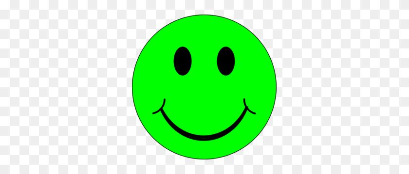 Happy Green Face Clip Art - Sad Smiley Face Clip Art