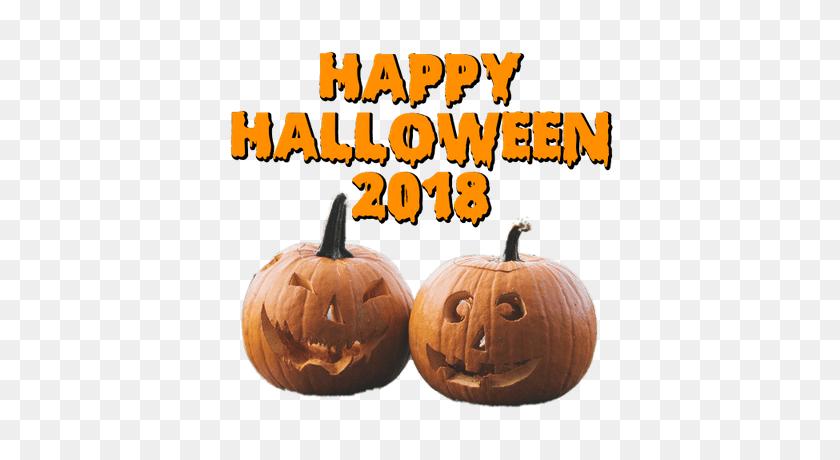 Happy Halloween Smiling Pumpkin Transparent Png - Halloween Pumpkin PNG