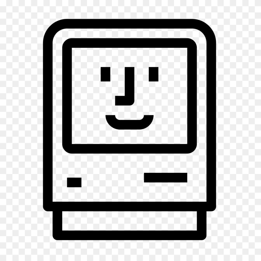 Happy Mac Icon - Mac PNG
