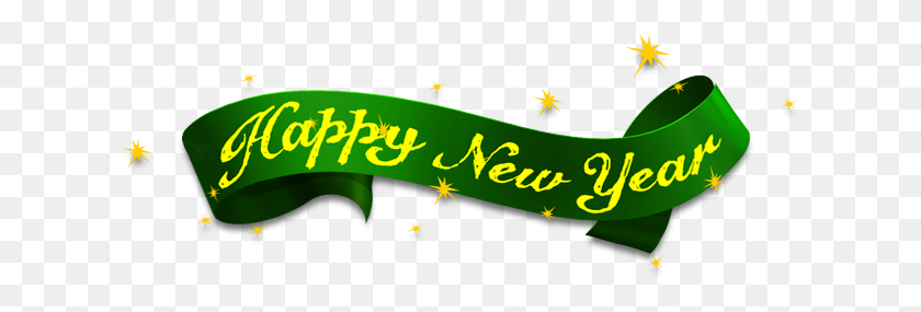620x225 Happy New Year Photo Png - New Year 2018 PNG