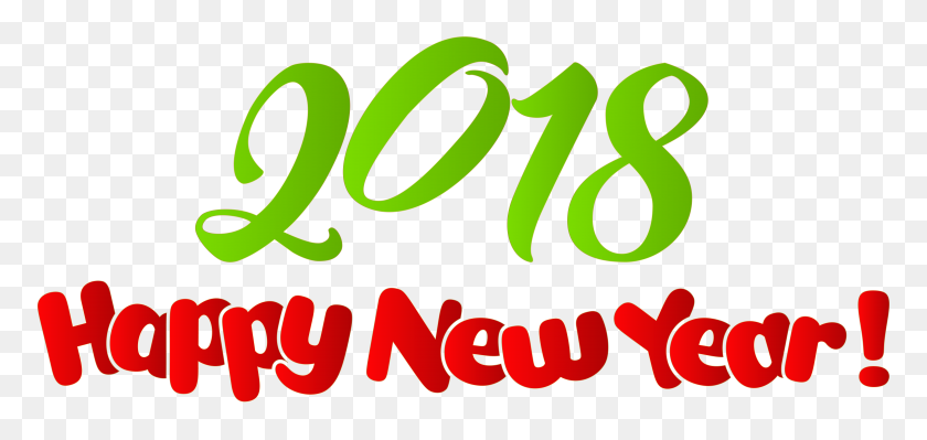 Happy New Year Png Clip Art - New Year 2018 PNG