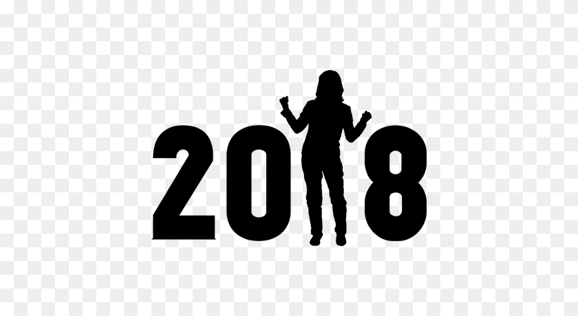 400x400 Happy New Year Transparent Png Images - New Year 2018 PNG