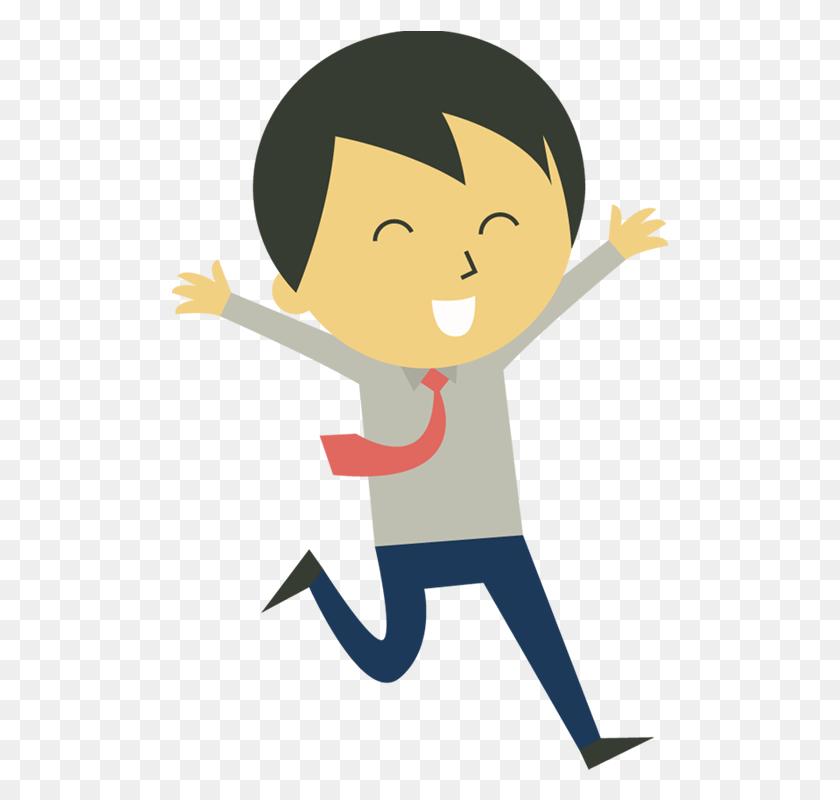 Happy Person Clip Art Portfolio Categories - Running Man Clipart