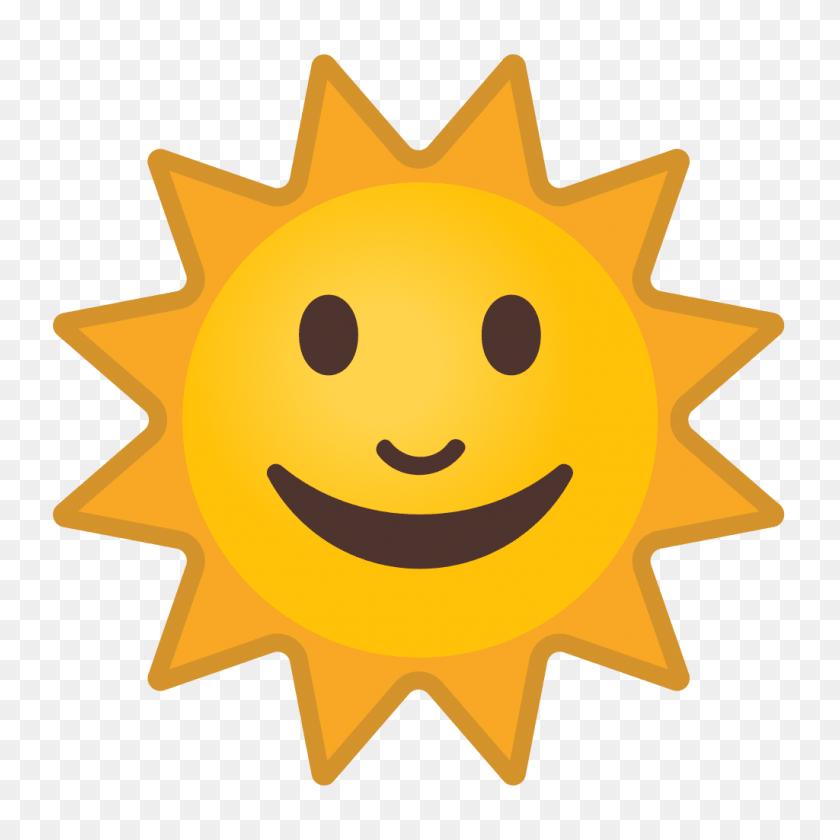 Happy Sun Emoji Transparent Png Image - Sun Emoji PNG