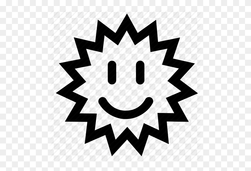 Happy, Sun Icon - Happy Sun PNG