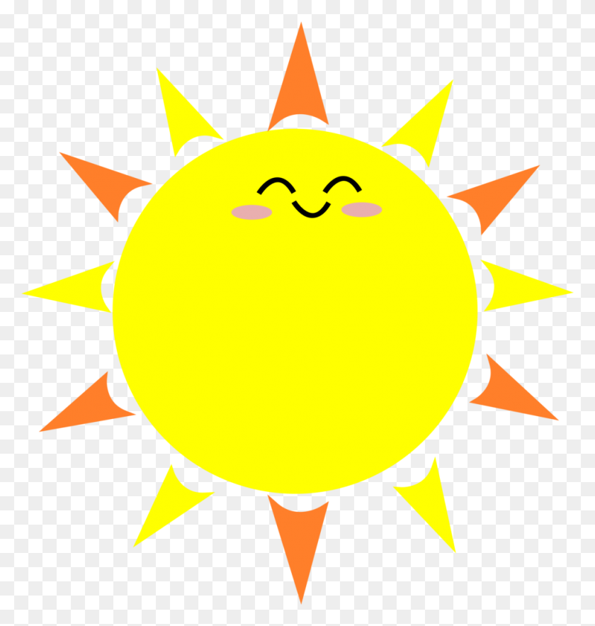 Happy Sun Png No Background Transparent Happy Sun No Background - Sun Cartoon PNG