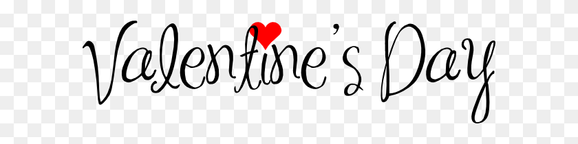 600x150 Happy Valentines Day Png Image Free Download - Valentines Day PNG