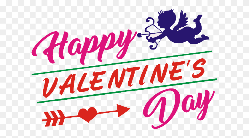 627x408 Happy Valentines Day Png Pic - Valentines Day PNG