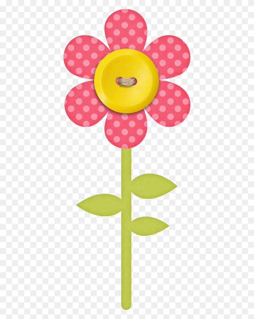 420x995 Happy,happy,happy Flowers, Clip - Happy Flower Clipart