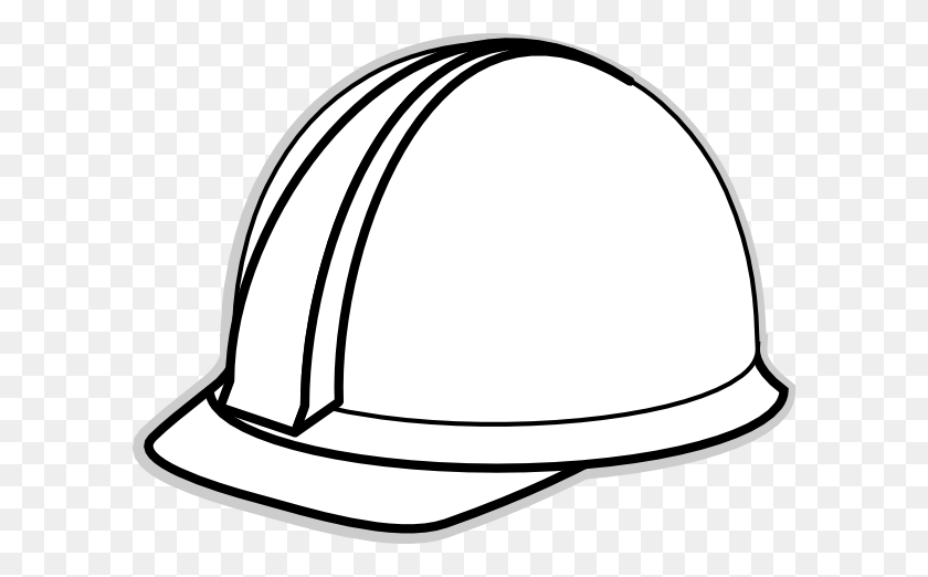 Hard Hat Template For Teacher White Hard Hat Clip Art - Scarecrow Hat Clipart