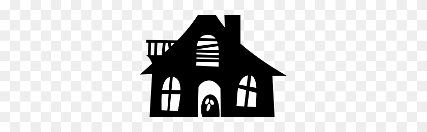 Harika Kanatlar Png Png Image - Haunted House PNG