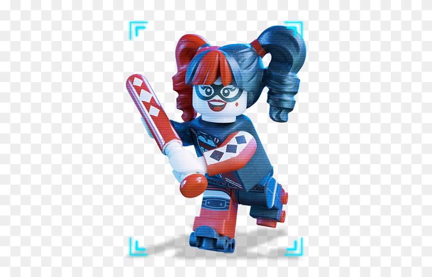Harley Quinn Lego From Batman Lego Clipart - Lego Batman PNG