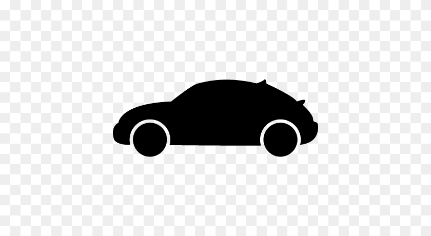 Hatchback Car Variant Side View Silhouette Free Vectors, Logos - Car Silhouette PNG