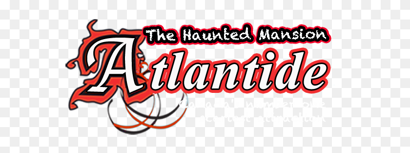 Haunted House Atlantide Haunted House - Haunted Mansion Clipart