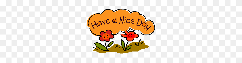 Have A Nice Day Clip Art - Picture Day Clipart