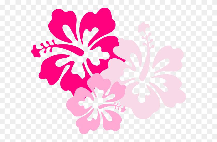 Hawaiian Flower Clip Art Flower Bright Hawaiian Clipart - Real Flower Clipart