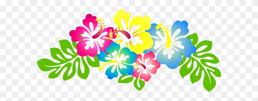 600x271 Hawaiian Flower Clipart Hawaiian Flower Clip Art Images - Free Clipart Images Of Flowers