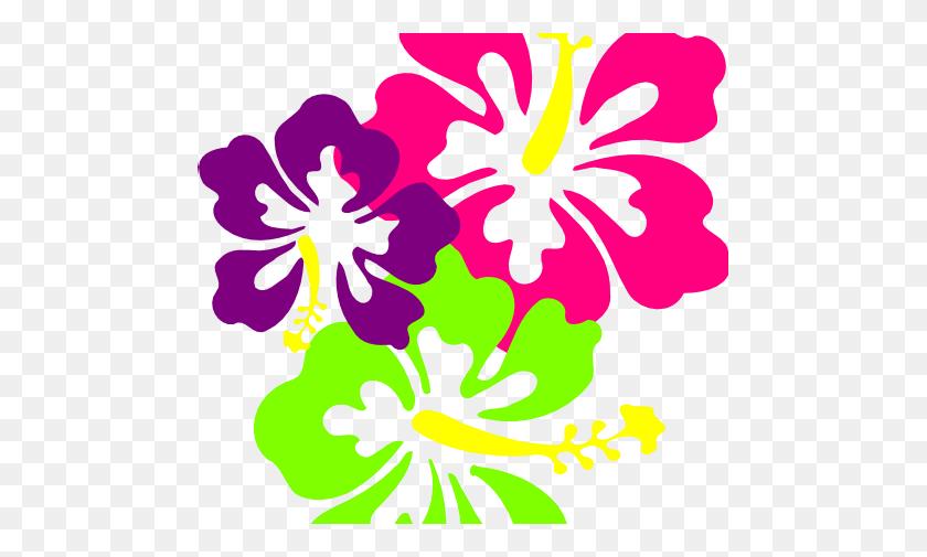 Hawaiian Flower Images Clipart - Moana Flower Clipart