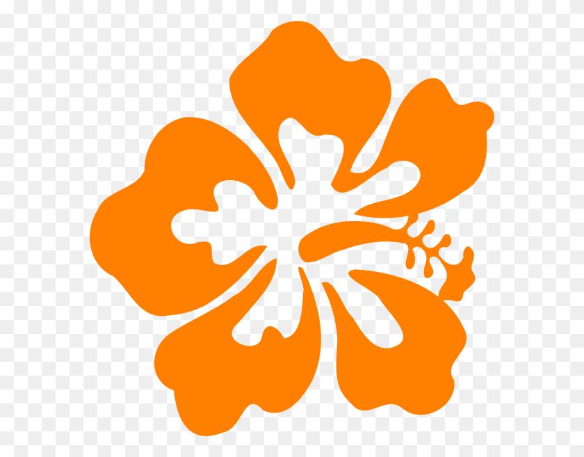 Hawaiian Flower Tropical Free Hawaiian Clip Art Flower Luau - Hawaiian Flowers PNG