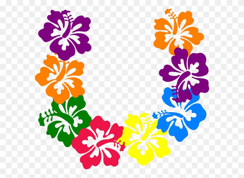 Hawaiian Luau Clip Art Black And White - Mahalo Clipart