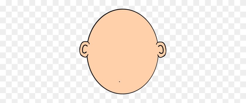 Head Clip Art - Peach Clipart