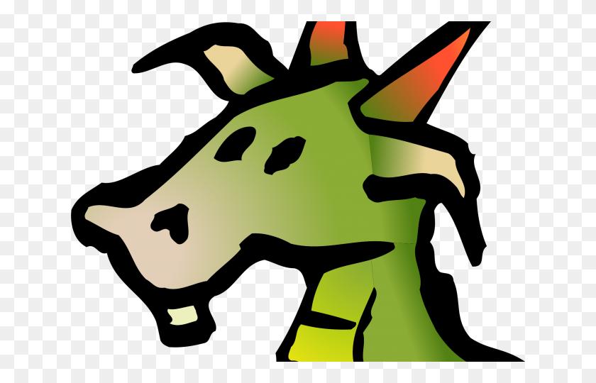 Head Clipart Dragon - Dragon Head Clipart
