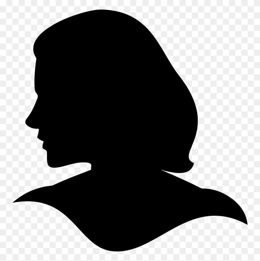 Head Clipart Woman - Woman Clipart