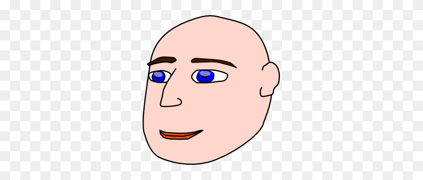 Head Man Bald Clip Art - Bald Clipart