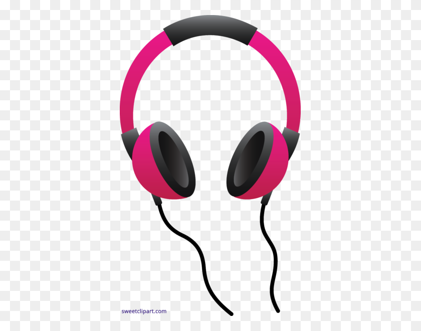 361x600 Headphone Clipart Baby - Mp3 Player Clipart