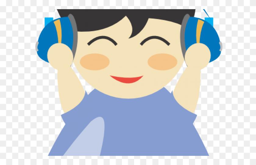 Headphone Clipart Spelling Center - Block Center Clipart