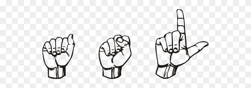 Hearmyhands Asl How I Use Asl In School - Figurative Language Clipart