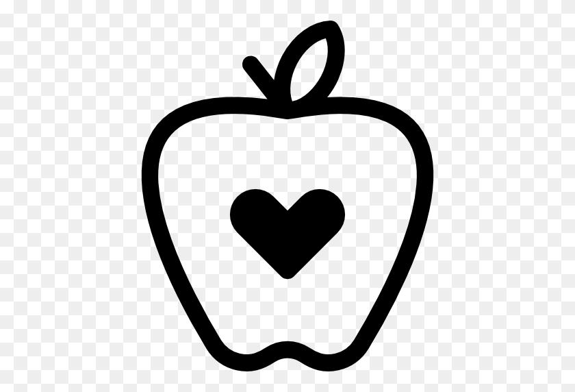 Heart Apple Vector Clipart Winging - Heart Shape Clipart