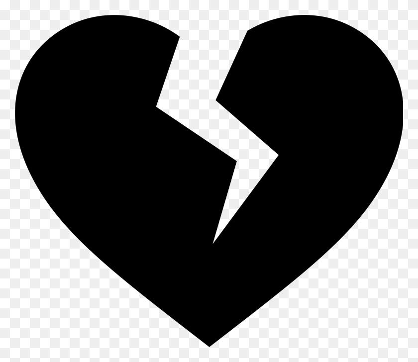 2400x2057 Heart Black And White Heart Black And White Heart Clipart Clip Art - Private Clipart