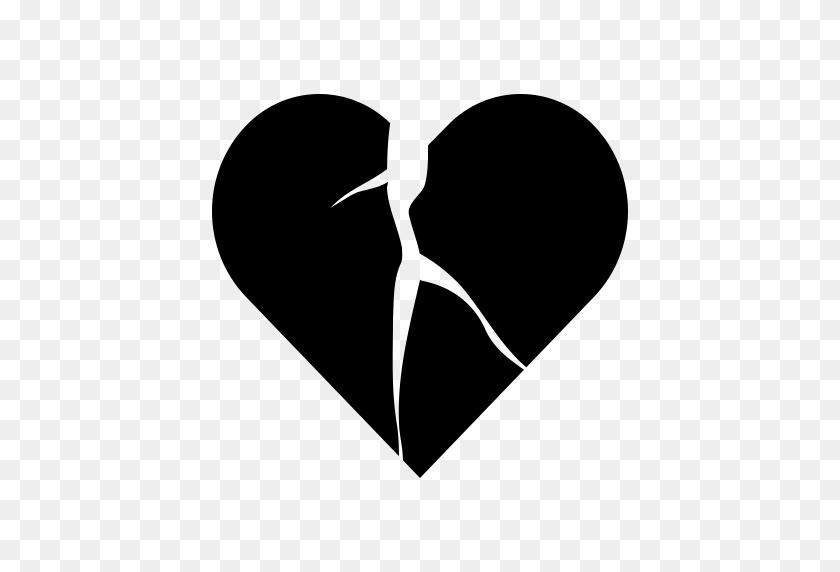 Heart Broken, Broken Heart, Cardiac Icon With Png And Vector - Heart Broken PNG
