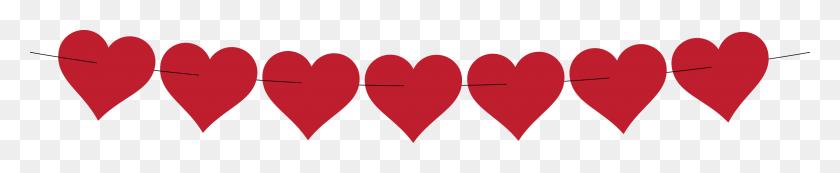 Heart Chain Clipart - Paper Chain Clipart