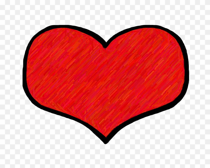 Heart Clip Art - Heart Doodle PNG