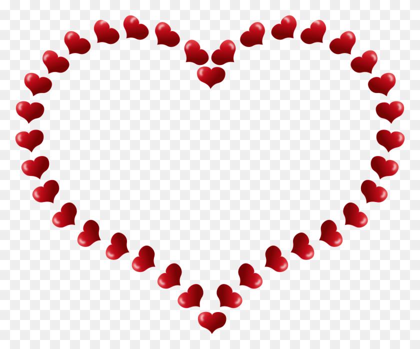 Heart Clipart Frames - Pink Heart Clipart