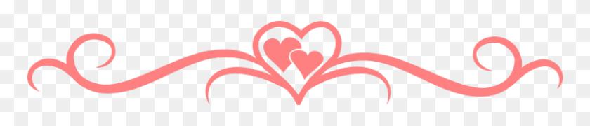 3225x500 Heart Divider - Free Divider Clipart