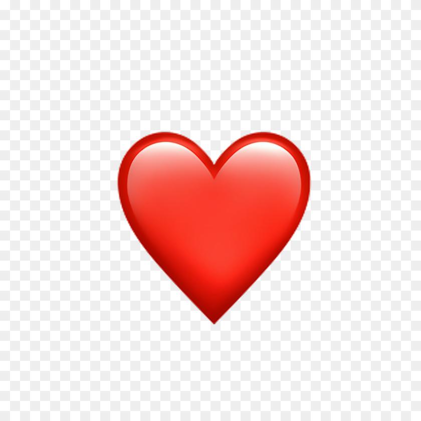 heart hearts emoji emojis tumblr red 855587