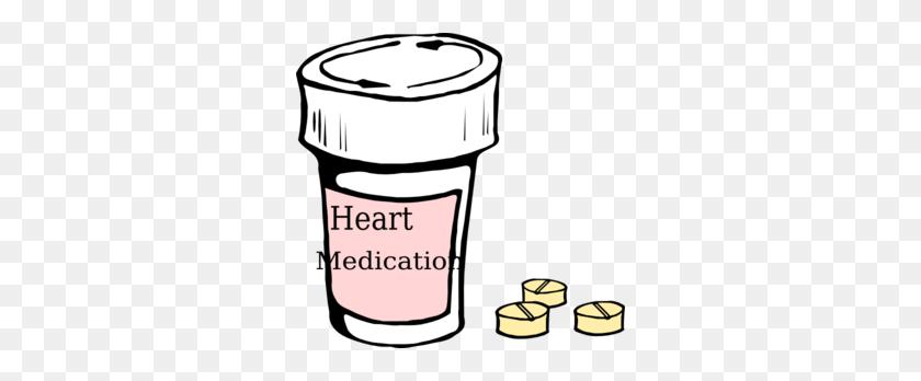 Heart Medication Clip Art - Medication Clipart