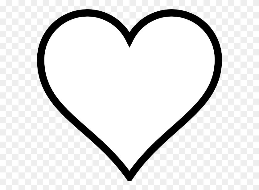 Heart Outline Clip Arts Download - Heart Outline Clipart
