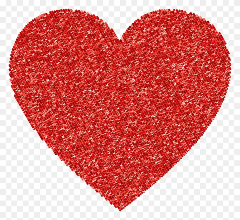 Heart Rabbit Valentine's Day Wool Geometry - Wool Clipart