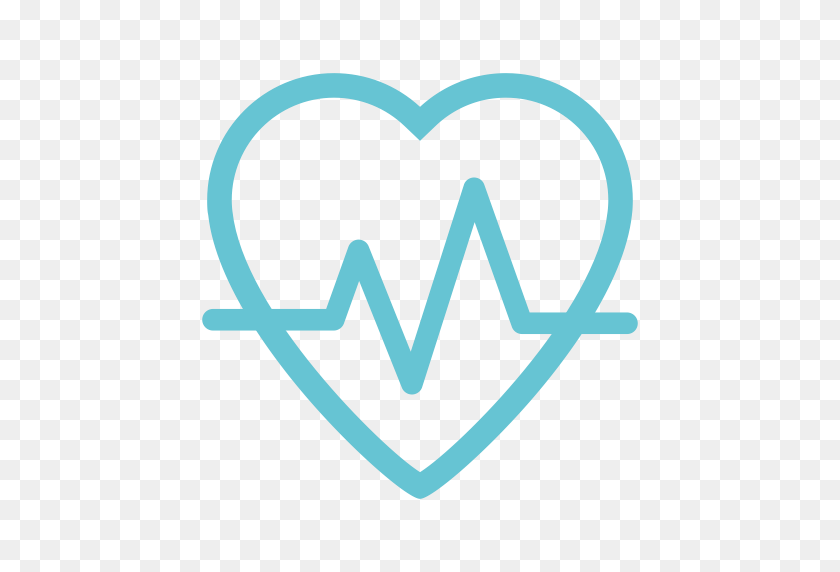 Heart Rate, Heartbeat, Lifeline Icon With Png And Vector Format - Heartbeat PNG