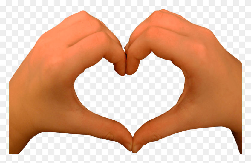 Heart Shape Hands Transparent Image - Heart Shape PNG