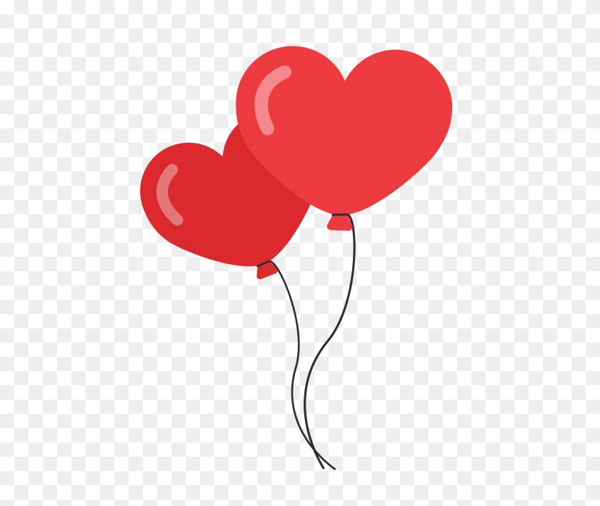 Heart Shaped Balloons Png Image - Heart Shape PNG