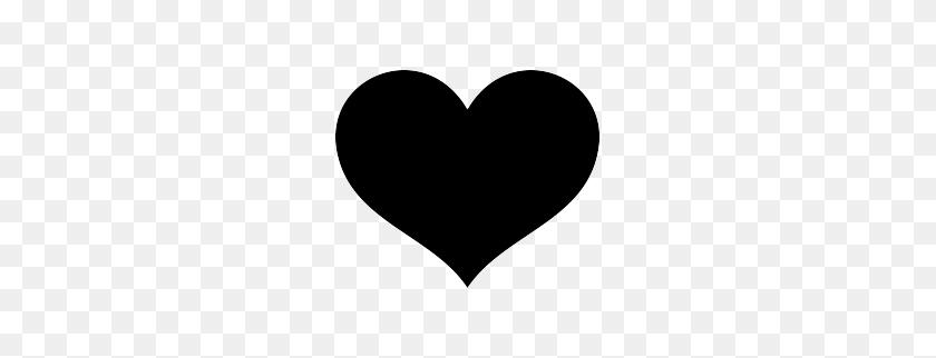 Heart Silhouette Clipart - Heart Silhouette Clip Art