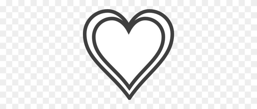 298x297 Heart Silhouette Cliparts - Heart Silhouette Clip Art